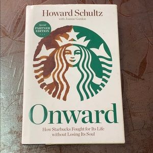 """Book Onward """"how Starbucks fought for its life..."""""""